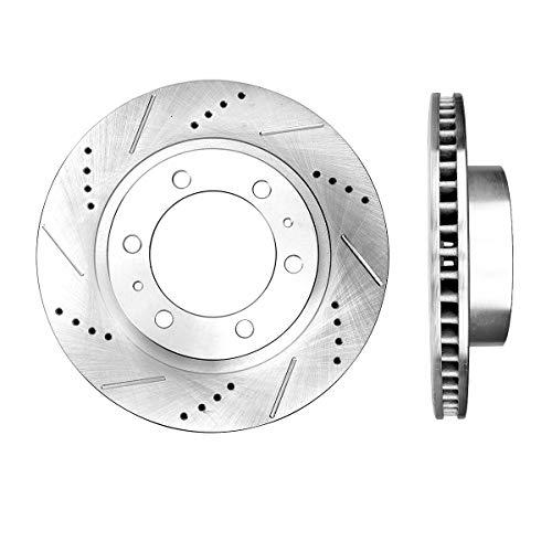 Callahan CDS02072 FRONT Premium Grade D/S 319 mm 6 Lug [2] Rotors Set [ Toyota 4Runner FJ Cruiser Tacoma ]