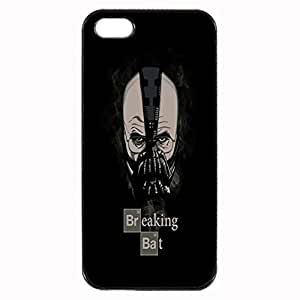 Breaking Bat Custom Image For Ipod Touch 4 Phone Case Cover Diy pragmatic Hard For Ipod Touch 4 Phone Case Cover High Quality Plastic Case By Argelis-sky, Black Case New
