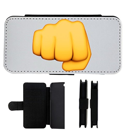 """Leder Flip Case Apple IPhone 5/ 5S/ SE """"Fausthand"""", der wohl schönste Smartphone Schutz aller Zeiten."""