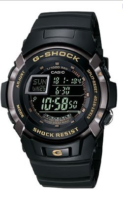 Casio Men's G7710-1 G-Shock Trainer Shock Resistant Multi-Function Watch