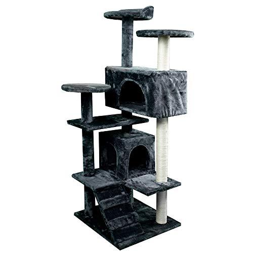Rascador árbol para Gato, Modelo Tico 3 Alturas