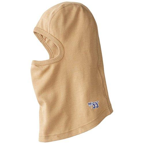 Minus33 Merino Wool Clothing Unisex Midweight Wool Balaclava, Desert Sand, One Size by Minus33 Merino Wool (Image #3)