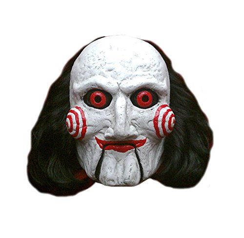 Trick Or Treat Mask (Trick or Treat Studios Men's Saw-Billy Puppet Mask, Multi, One Size)