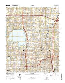 Amazon.com : Britton, Oklahoma topo map by East View ...