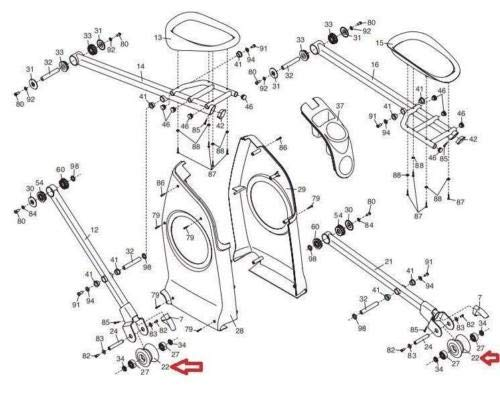 Treadmill Drive Belt  Nordictrack Proform Reebok Healthrider Epic PART # 216749