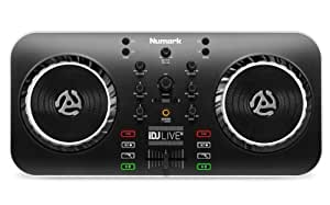 Numark iDJ Live II | DJ Controller for Mac, PC, iPad, iPhone and iPod Touch (USB, Lightning and 30-pin)