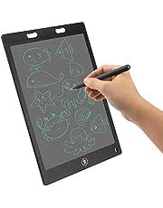 Putron LCD Schrijftablet, 12-Inch LCD Handschrifttekening Doodle Bord, Uitwisbare Digitale Schrijftablet Met Schermvergrendeling, Digitale Handgeschreven Notities Voor School, Thuis, Op Kantoor