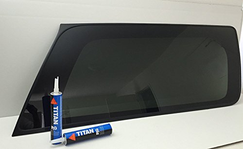 TYG Fits 2000-2006 Chevy Suburban & GMC Yukon XL 4 Door Utility Passenger Side Right Rear Quarter Glass Window W/2 Sika