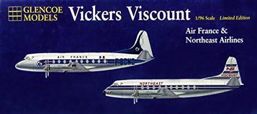 プラッツ 1/96 ヴィッカース・バイカウント ノースイースト航空 プラモデル GM6501