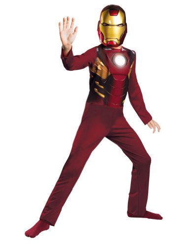 [Iron Man Mark 7 Avengers Basic Costume] (Halloween Costumes Iron Man)
