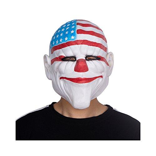Payday 2 Dallas Mask - Halloween Costume Mask - Latex Mask - Payday 2 Mascara -