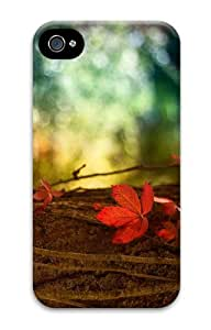 case personalize Autumn Maple Tree PC Case for iphone 4/4S