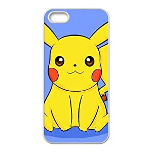 iPhone 5 5s Cell Phone Case White Super Smash Bros Pikachu S3O4WR