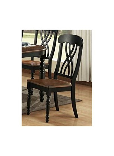 Ohana Side Chair - Set of 2 (Antique White) (Antique White Chairs)