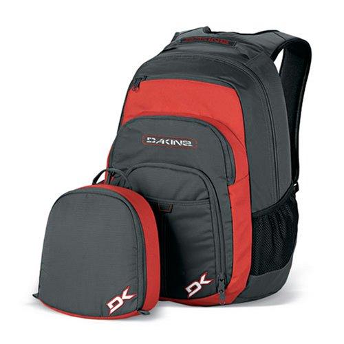 Dakine Portal (Charcoal/Red) Laptop Backpack