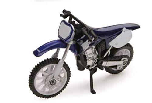 NewRay Toys Die-Cast Blue Yamaha YZ 125 Dirt Bike, 1:32 Scale ()