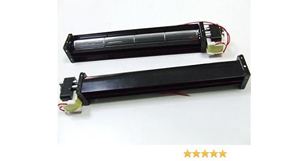 Ventilador tangencial tubular metálico impulsor de 22 W y 220 CA ...