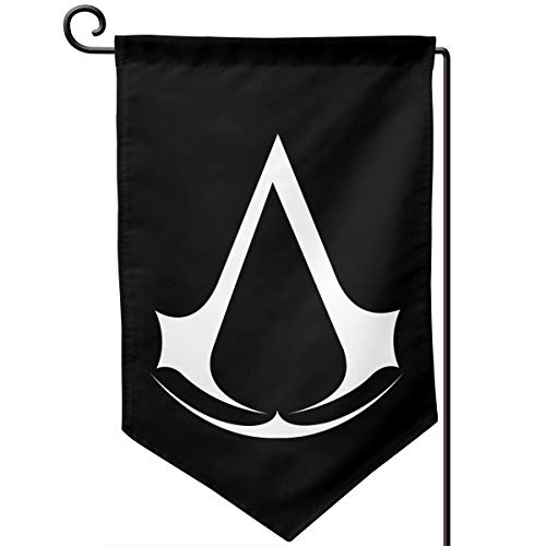 Sunmoonet Garden Flag Assassin Creed Video Game Home Yard Holiday Flags Double Sided Decorative House Decor Flag (Best Creed For Winter)
