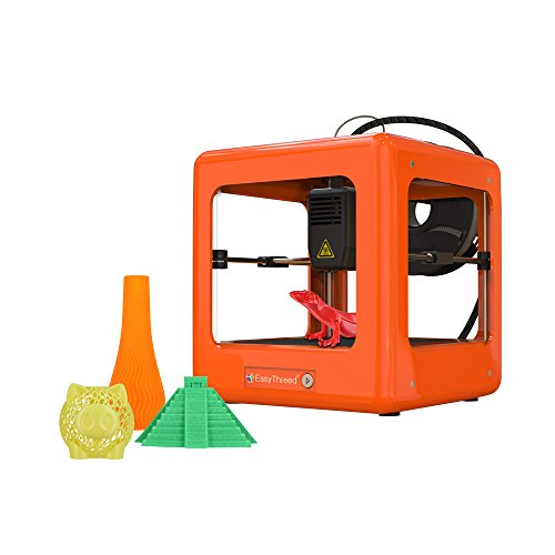 Aibecy EasyThreed Nano Entry Level Desktop 3D Printer for Kids Students No Assembling Quiet Working Easy Operation High Accuracy (Desktop Nano)