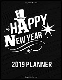 Amazon.com: Happy New Year 2019 Planner: Lovely Quotes Cover ...