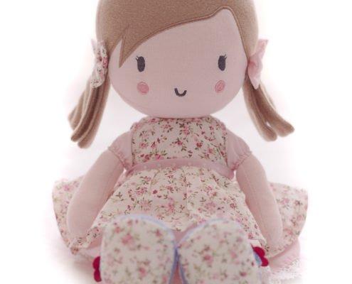 Bizzi Growin Rose Princesse Peluche Poup/ée jouet