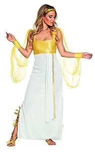 Boland 83843–Adultos Disfraz Afrodita, color blanco