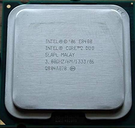 .Intel Core 2 Duo E8400 3.0GHz 3MB Socket 775 Dual-Core CPU 1066MHz