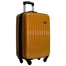 "Ricardo Bradbury Wheelaboard 21"" Upright Hardside Luggage Spinner Carry On (Gold)"