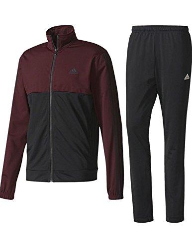 adidas MEN ATHLETICS BACK 2 BASICS 3 STRIPES TRICOT TRACKSUIT SIZE (Adidas Soccer Suit)