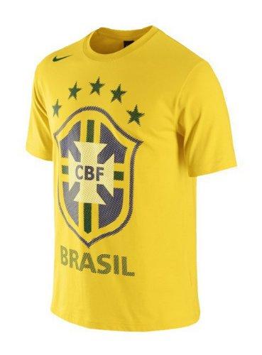 - Nike Brazil Core Federation T-shirt (L)
