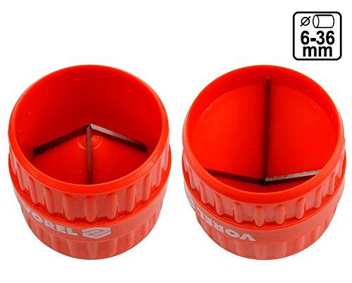 VOREL 78385 - una herramienta de acabado de tubos de plá stico Yato