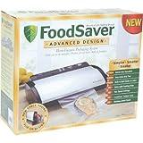 FoodSaver V2840 Advanced Design Vacuum Food Sealer, White/Black