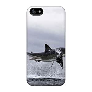 Cute High Quality Iphone 5/5s Flying Shark Case