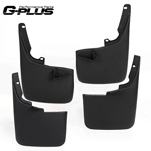 Mud Flaps F250 Ford (for Ford F-250 F350 F450 F550 Super Duty 2011-2016 Mud Flaps Without Fender Flares Guards Splash Mudguards)