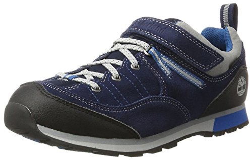 Timberland Kids Griffin Park Goretex Waterproof Oxford, Blue (Black Iris), 5 UK ()