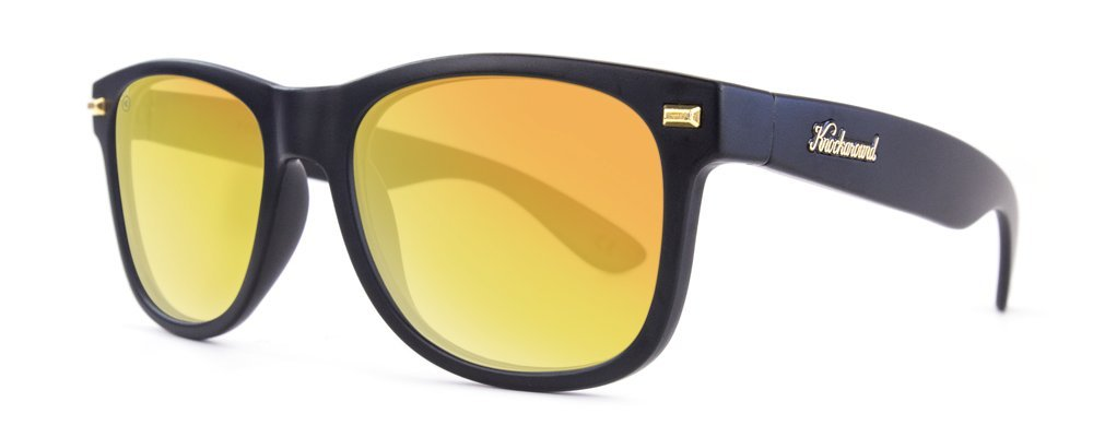 Gafas de sol Knockaround Fort Knocks Matte Black / Sunset