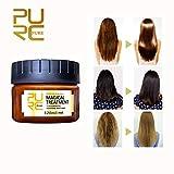 Baosk Advanced Molecular Hair Roots Treatment Professtional Hair Conditioner,PURC Hair Detoxifying Hair Mask Deep Conditioner Molecular Hair Roots Treatment 120ML, 5 Seconds to Restore Soft Hair