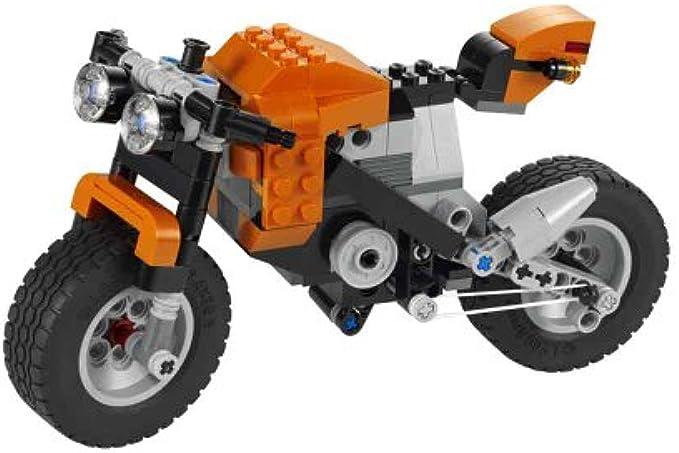LEGO Creator 7291 אופנוע כתום