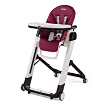 Peg Perego Siesta High Chair, Raspberry by Peg Perego