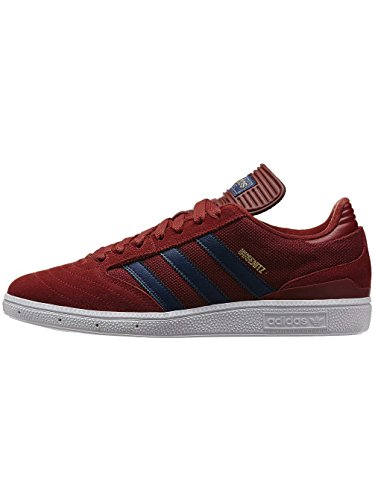 Hombre Patines Chuh Adidas Originals busenitz Leather skateshoes, nomad red/running white, 40.5 nomad red/running white