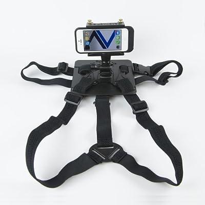 READYACTION Sport -Smartphone/Camera Chest Harness -Ships w/Free Bike Mount: Electronics