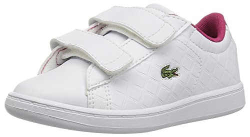 Lacoste Baby Carnaby Evo 417 1 Spi Sneaker, White, 9. M US Toddler by Lacoste