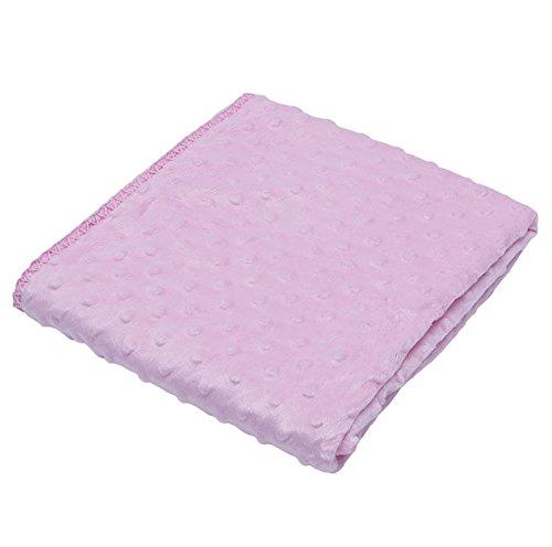 ピンクbaby-blanket-newborn-thermal-warm-soft-polar-fleece-blankets-swaddling-bedding   B06XWY2YR8