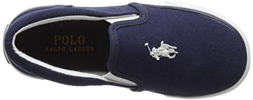 Ralph Lauren bal Harbour II, Zapatillas Sin Cordones Para Niños Blue (Navy Canvas)