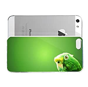 iPhone 5&5S cover case Animals Green Parrot