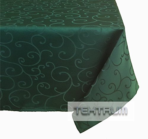 Tektrum 52 x 70 inch 52 x70 rectangular polyester for Table runners 52 inches