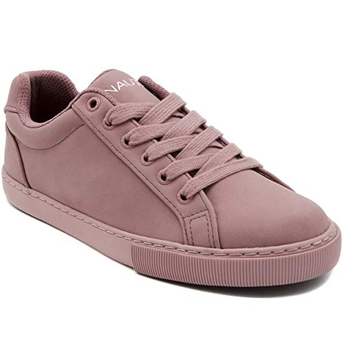 - Nautica Steam Women Lace - Up Fashion Sneaker Casual Shoes-Steam-Mauve-7.5