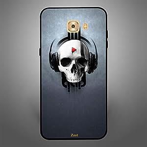 Samsung Galaxy C9 Pro Music Skull