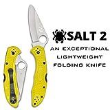 Spyderco Salt 2 Lightweight Folding Knife with