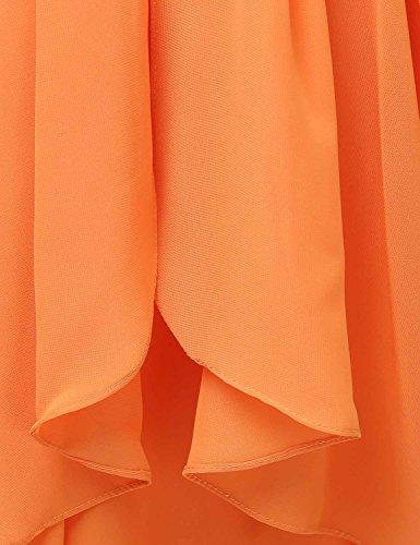 Abschlussballkleider Clearbridal Abendkleider CSD427 Ein Mini 247 Chiffon Ballkleid Pfau Faltenrock Schulter Damen q8xaq16